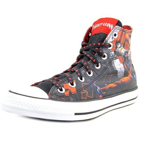 Converse DC Comics Harley Quinn Chuck Taylor AllSatr Sneakers (12 B(M) US Women / 10 D(M) US Men)