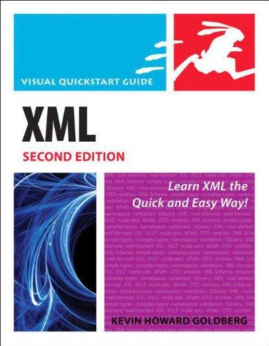 XML Visual QuickSTart Guide