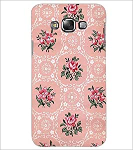 PrintDhaba Floral Pattern D-2112 Back Case Cover for SAMSUNG GALAXY A8 (Multi-Coloured)
