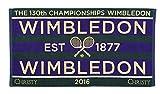 ウィンブルドン 公式タオル 2016年 メンズ 男子モデル 130周年記念 全英オープン テニス
