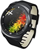 3 x atFoliX Screen protection LG G Watch R Protective film Screen protector - FX-Antireflex anti-reflective