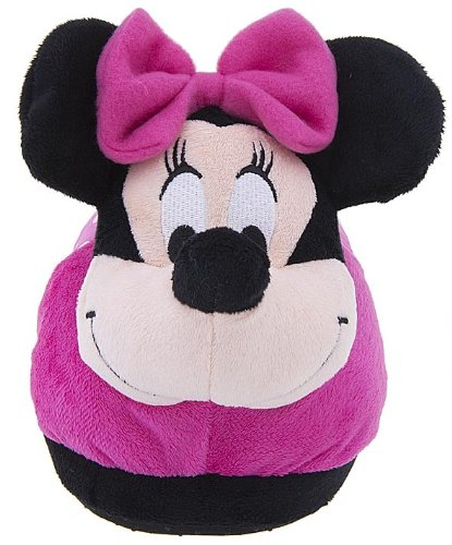 Image of Minnie Mouse Plush Slippers for Women by Concept 1 (B006ZQUZS0)