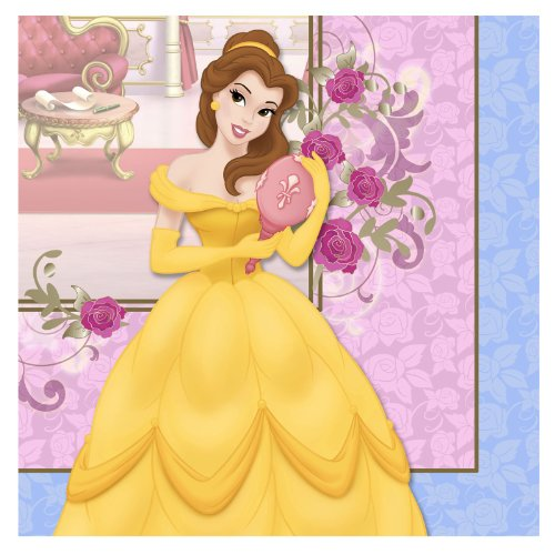 Beauty and the Beast 'Belle' Large Napkins (16ct) - 1