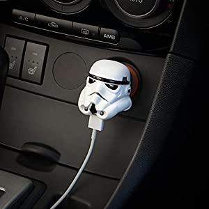 StarWars スターウォーズ Stormtrooper USB Car Charger ストームトルーパー USB 車載充電器 iPhone, iPad, Android対応 [並行輸入品]