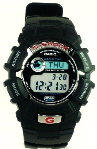 Casio Men's G2310R-1 G-Shock Tough Solar Power Digital Sports Watch