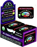 St. Claires Organics® Licorice Pastilles, 1.5 oz Tin (Pack of 6)