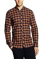 Philip Loren Camisa Hombre (Teja / Azul)