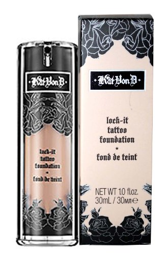 Kat Von D Lock-It Tattoo Foundation Medium 58