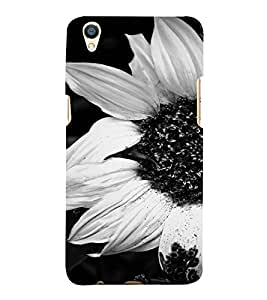PrintVisa Flower Design 3D Hard Polycarbonate Designer Back Case Cover for Oppo F1 Plus