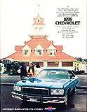 1975 Chevrolet Impala Caprice Caprice Bel Air Deluxe Sales Brochure