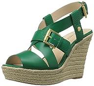 Nine West Women's Jentri Synthetic Wedge Sandal