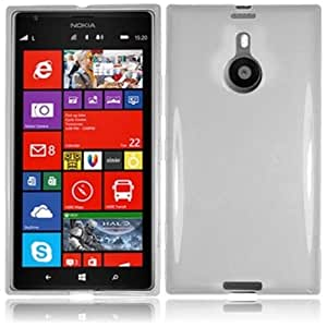 HR Wireless Nokia Lumia 1520 Frosted TPU Protective Cover - Retail Packaging - Clear