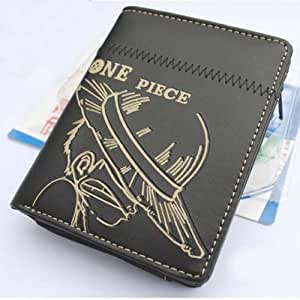 Topbill Fashion Anime One Piece Monkey D Luffy Purse Wallet Cosplay