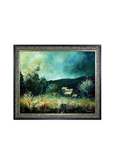 Pol Ledent Landscape Ardennes 54 Framed Canvas Print