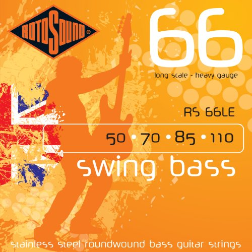 Rotosound RS66LE Swing Bass 66 Stainless Steel