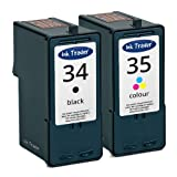 Remanufactured Lexmark 34 & 35 Ink Cartridges For use with Lexmark P915 Printers