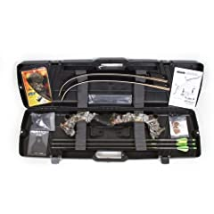 Buy Martin 2821T9230 Saber Takedown Bow Kit, 30-Pound, Camouflage by Martin Archery