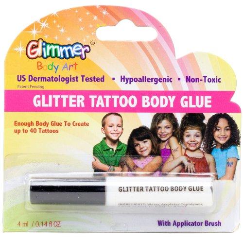 Glitter Tattoo Body Glue Party Accessory Naja Mathiassennas
