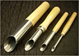 Set of Four Clay Tools- Hole Cutters