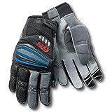 Gloves |4 Grey Motorrad GS Pro Gloves Motocross Gloves Car Rallye Motorbike Moto Racing Gloves for BMW | by ATUTI (Color: Blue, Tamaño: M)