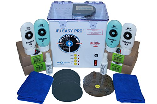 Lowest Prices! JFJ Easy Pro Universal CD/DVD Blu-Ray Repair Machine 110V with Extra Supply Kit (Up t...