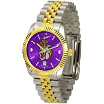 "James Madison Dukes NCAA AnoChrome ""Executive"" Mens Watch"