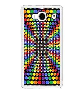 Colourful Dots Pattern 2D Hard Polycarbonate Designer Back Case Cover for Xiaomi Redmi 2S :: Xiaomi Redmi 2 Prime :: Xiaomi Redmi 2