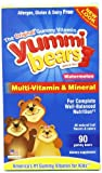 Yummi Bears Watermelon Multi-Vitamin and Mineral 90 Bears
