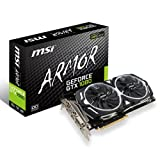 MSI V336-004R GeForce GTX 1080 ARMOR 8G OC PCI-Express-Grafikkarte