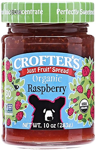 Crofter's Organic Raspberry Just Fruit Spread - 10 oz