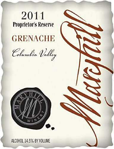 2011 Maryhill Winery Grenache Reserve 750 Ml
