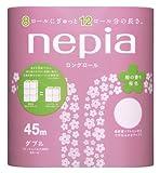 ネピアロングトイレットロール8ロールダブル桜