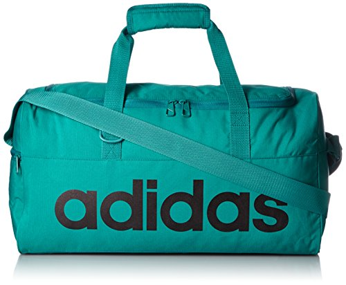 adidas Polyester 47 cms Green and Black Travel Duffle (4056559179878)