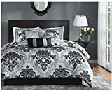 Super India Printed Micro Fiber Double Bed Comforter/Quilt set with two pillow cases (Sand Piper)