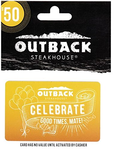 Buy Outback Steakhouse Menu Now!
