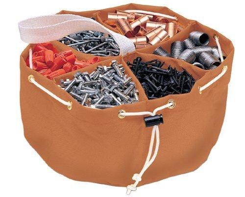 6 Pack Bucket Boss 25002 Parachute Parts Bag / Organizer