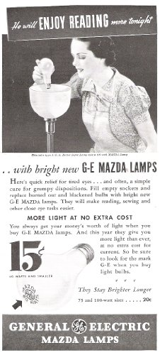 General Electric Light Bulbs