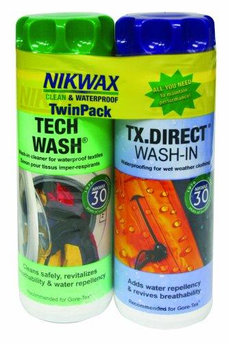 Nikwax Tech Wash & Tx. Direct Duo Pack front-591269