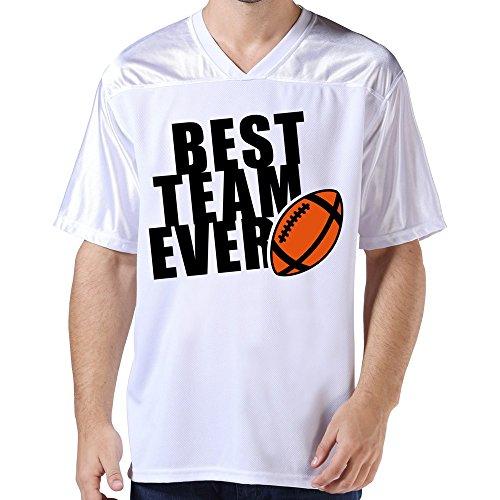Lfd Men'S Best Football Team Ever 2C American Football Jerseys White