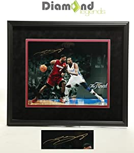 LEBRON JAMES Signed Authentic Autograph 16X20 Photo Professionally Framed w/ Upper Deck COA