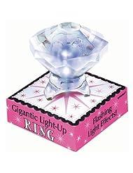 Gigantic Light Up Diamond Ring