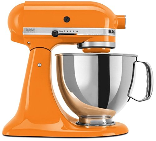 KitchenAid 4.5 Quart Tilt Head Stand Mixer, Tangerine Color (Kitchen Aid Mixer Tangerine compare prices)