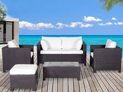 Milano Lounge Gartenmobel In Modern Braun Gunstig Online Kaufen
