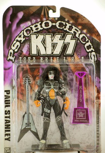 2002 Out of Production RARE New KISS McFarlane Rhythm Guitar /& Vocals Collectible Statuette Bust Limited Edition Collectible KISS Paul Stanley : The Starchild