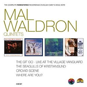 Mal waldron quintets 4 albums originaux