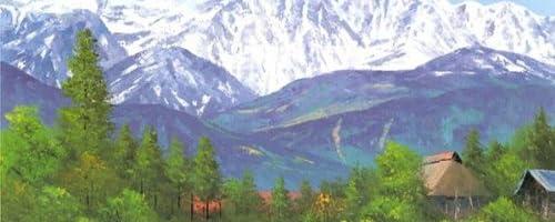 小林幸三・白馬山麓/長野県(絵画・版画)(風景画)
