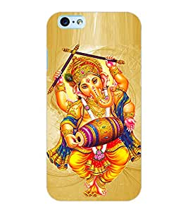 ColourCraft Lord Ganesha Design Back Case Cover for APPLE IPHONE 6S