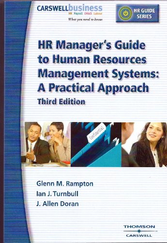 HR Manager's Guide to Human Resources Management Systems: a Practical Approach (HR Guide Series)