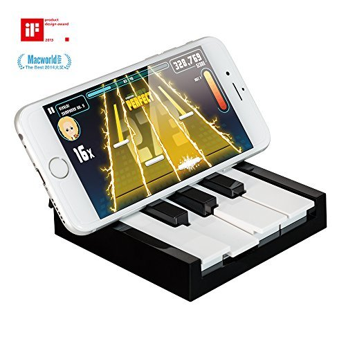 OZAKI O!arcade TAPiano Magic Piano Game with True Touch Keyboard for iPhone 6/6Plus/5S/5/5C, iPad Air 2/iPad Air, iPad Mini, iPod Touch 5, and more! [並行輸入品]