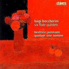 Luigi Boccherini: Six Flute Quintets